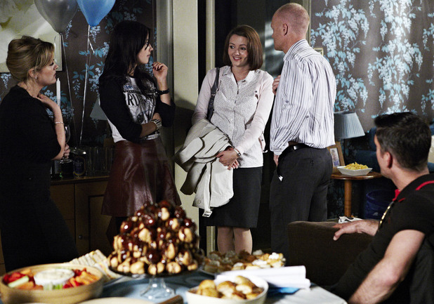 Alice meets the rest of the Branning family.