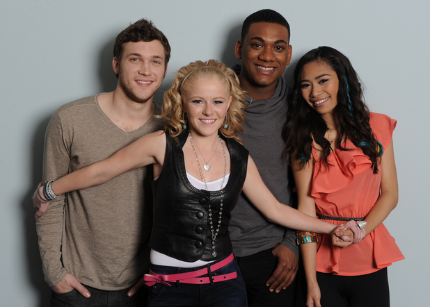 American Idol season 11 Top 4: Phillip Phillips, Hollie Cavanagh, Joshua Ledet, Jessica Sanchez
