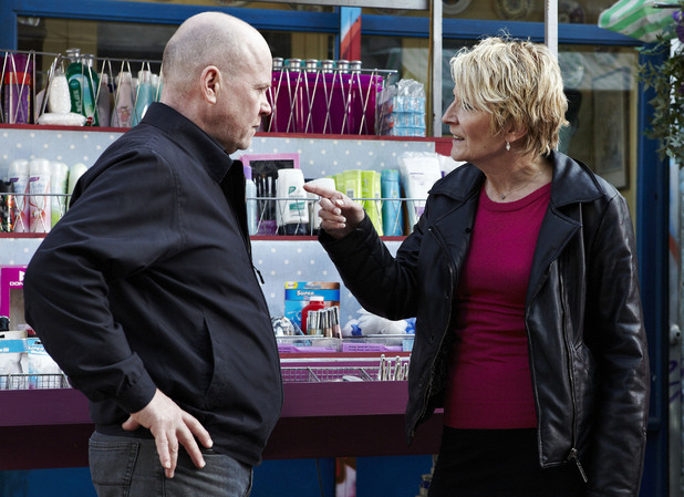 Shirley is livid when she hears what Phil has said to Ben.