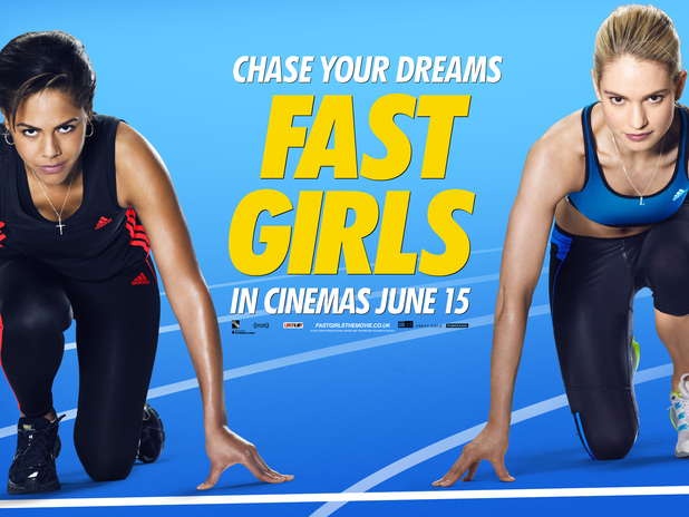 Fast Girls poster, Lenora Crichlow, Lily James