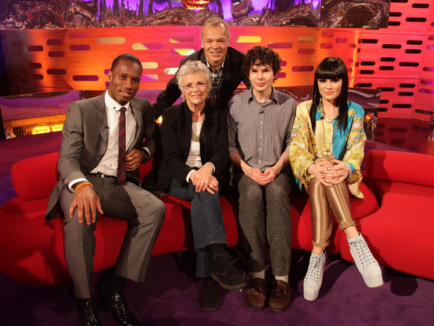 Graham Norton Show guests TX May 4, 2012: Jessie J, Didier Drogba, Julie Walters, Simon Amstell