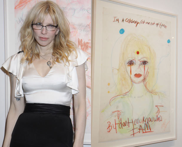 Courtney Love, art