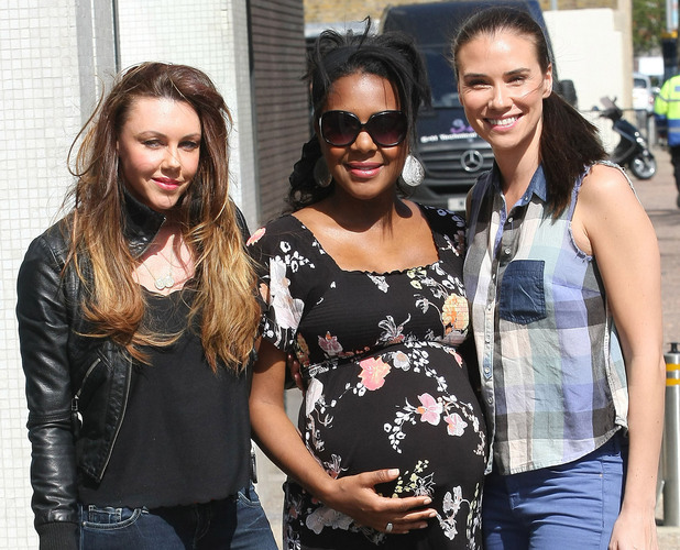 Michelle Heaton, Kelli Young and Jessica Taylor of Liberty X