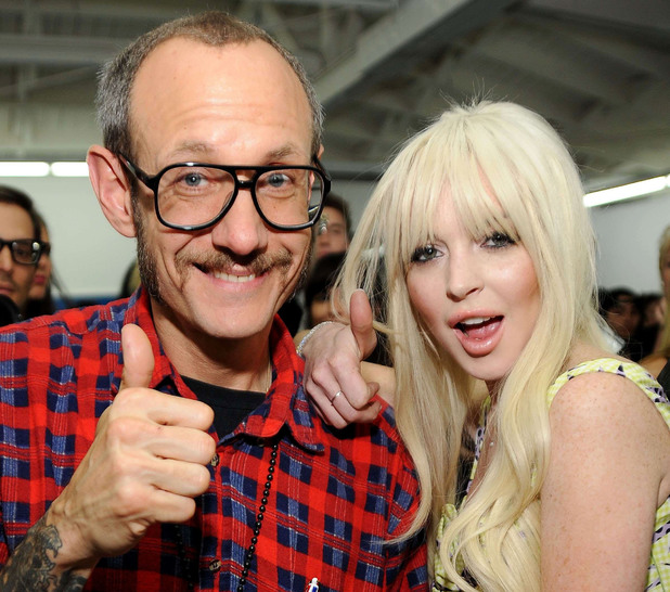 Terry Richardson, Lindsay Lohan
