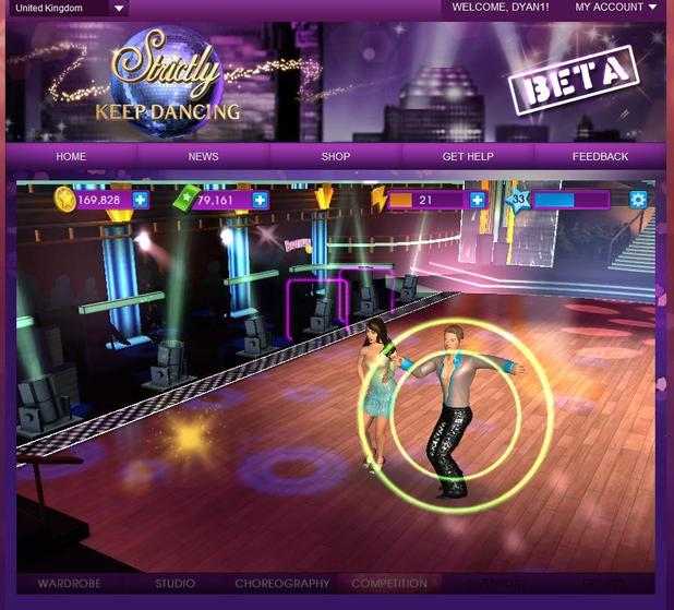 'Strictly Keep Dancing' screenshot
