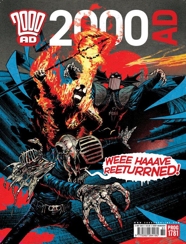 Judge Dredd 'Dark Judges' for 2000AD