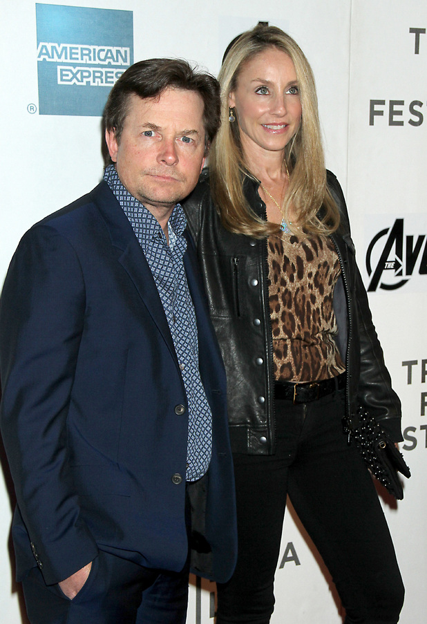 Michael J. Fox, Tracy Pollan Marvel's ' The Avengers' premiere during the closing night of the 2012 Tribeca Film Festival at BMCC Tribeca PAC New York City