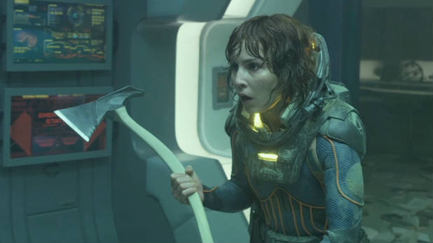 Watch the latest trailer for 'Prometheus', which debuted exclusively during Channel 4's Homeland on April 29, 2012.