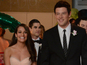The actress is upset that she will not work closely with Monteith in Glee's fourth season.