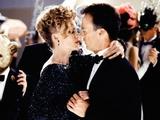 Michael Keaton as Bruce Wayne with Michelle Pfeiffer as Selina Kyle/Catwoman in Batman Returns (1992)
