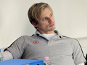 Merlin star discusses playing physio Carl in Olympics-themed film Fast Girls.