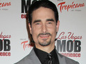 Kevin Richardson announces on Facebook that his son was born on July 10.