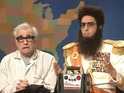 Sacha Baron Cohen forces Martin Scorsese to give his movie a good review.