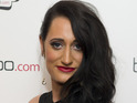 Lauren Socha given suspended jail sentence for racially aggravated assault.