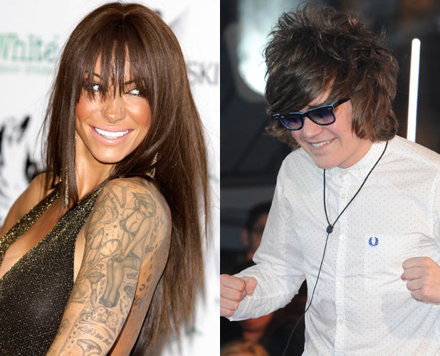 Jodie Marsh and Frankie Cocozza