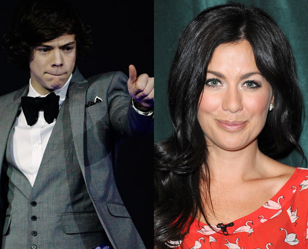 Harry Styles and Jillian Harris