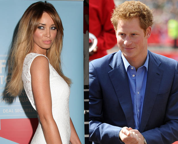 Lauren Pope and Prince Harry
