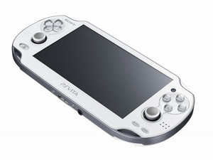 The new Crystal White PlayStation Vita