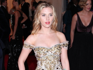 Scarlett Johansson Schiaparelli and Prada 'Impossible Conversations' Costume Institute Gala at The Metropolitan Museum of Art New York City