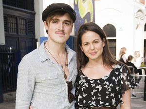 Tom Fletcher with Giovanna Falcone