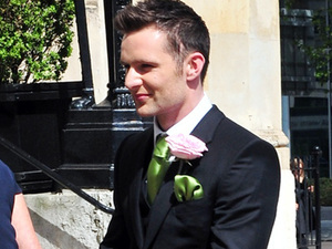 Harry Judd at Tom Fletchers wedding