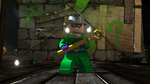 Exclusive character render of Riddler from LEGO Batman 2: DC Super Heroes.