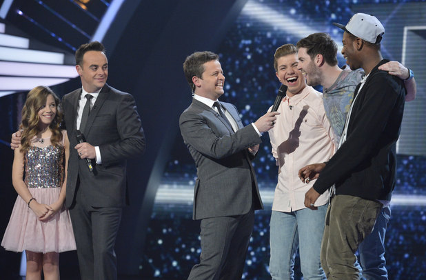 'Britain's Got Talent' Semi-Final 3: Molly Rainford, Ant and Dec and the Loveable Rogues