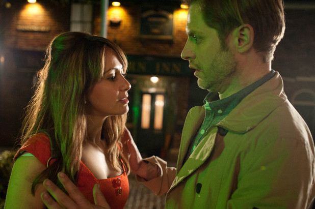 Maria and Aiden get on great at the pub, but Aiden has a shock revelation outside