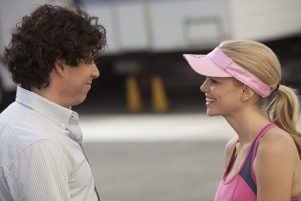 Episodes s02 e01 UK TX May 11, 2012: (L-R) Sean Lincoln [STEPHEN MANGAN], Morning Randolph [MIRCEA MONROE]