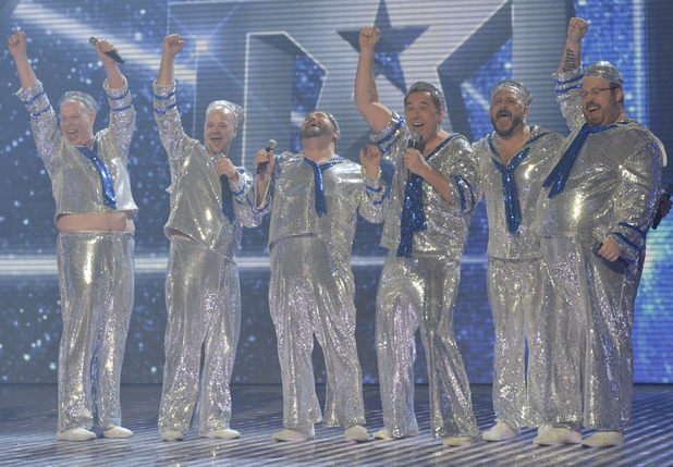 Britain's Got Talent Final: David Walliams and The Showbears