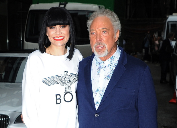 Jessie J and Tom Jones<br /><br />