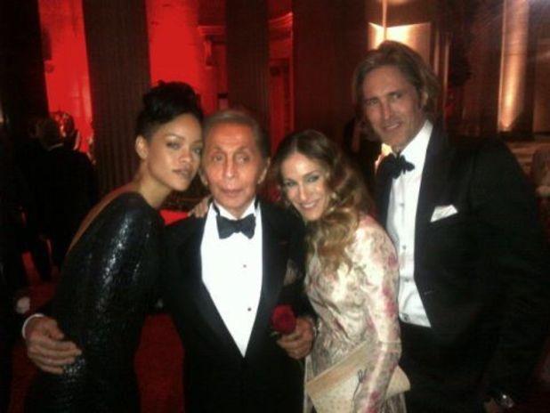 Rihanna, Valentino and Sarah Jessica Parker