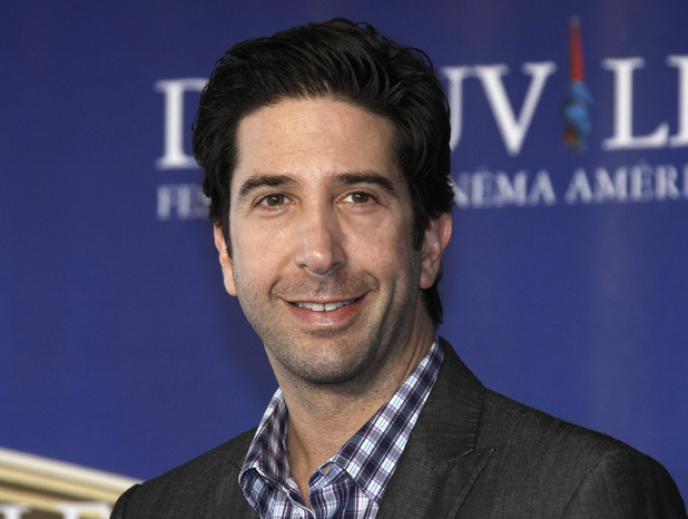 "Friends Cast Then and Now - David Schwimmer poses for photographers during a photocall for his film ""Trust"" at the 37th American Film Festival in Deauville, Normandy, France, 2011"