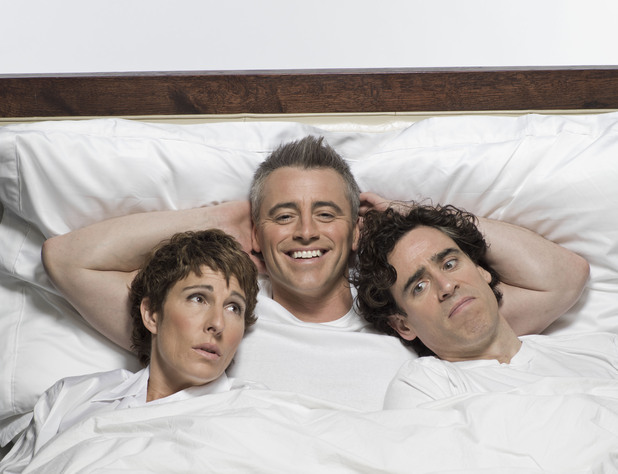 Episodes: Tamsin Greig, Matt LeBlanc, Stephen Mangan