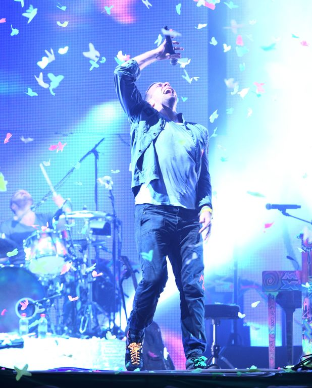 Coldplay / Every Teardrop Is A Waterfall Glastonbury Festival, 2011
