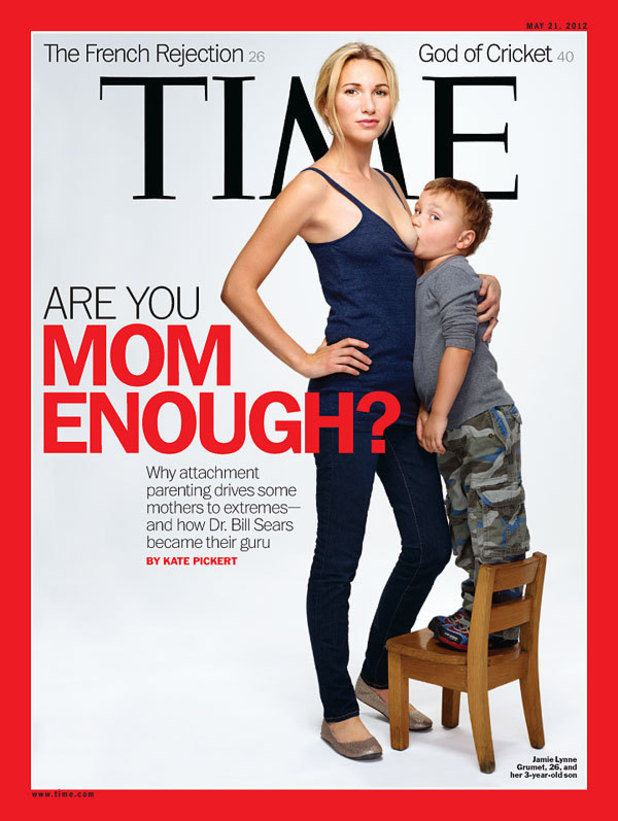 Time Magazine: 'Are You Mom Enough?' cover