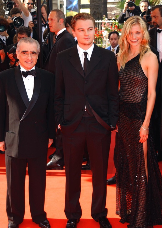 Martin Scorsese, Leonardo DiCapro and Cameron Diaz