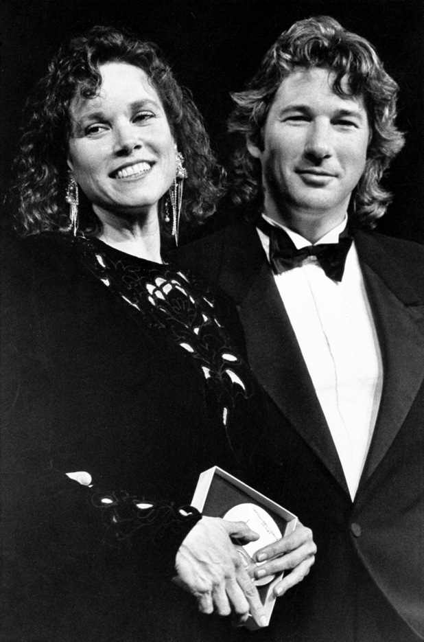 Richard Gere and Barbara Hershey Shy People