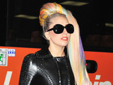 Lady Gaga arrives at Narita International Airport Tokyo, Japan