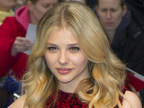 Chloe Moretz arrives for the European Premiere of Dark Shadows, at a central London cinema