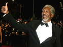 Morgan Freeman opens up about the fate of Lucius Fox in The Dark Knight Rises.