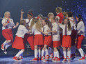 Singer and young dance troupe voted into Saturday's live final by the viewing public.