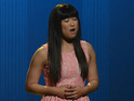 A sneak peek of Glee's next episode shows Tina, Puck and Finn transform.