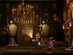 &#39;Luigi&#39;s Mansion 2&#39; screenshot