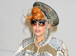Lady Gaga arrives at Narita International airport to catch a flight Tokyo, Japan