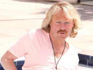 Keith Lemon and Kelly Brook at the 'Keith Lemon the Film' photocall.