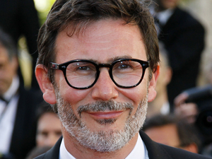 Director Michel Hazanavicius arrives for the opening ceremony and screening of Moonrise Kingdom at the 65th international film festival, in Cannes