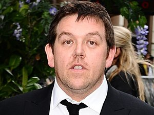 Nick Frost arriving for the UK premiere of Snow White And The Huntsman at the Empire and Odeon Cinemas in Leicester Square, London