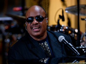 Stevie Wonder performs at the White House, May 9 2012.