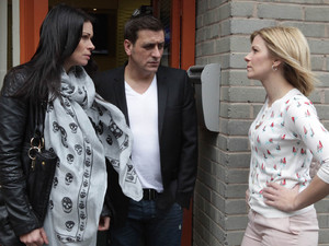 Leanne is furious over Carla's offer and visits Peter to confront him